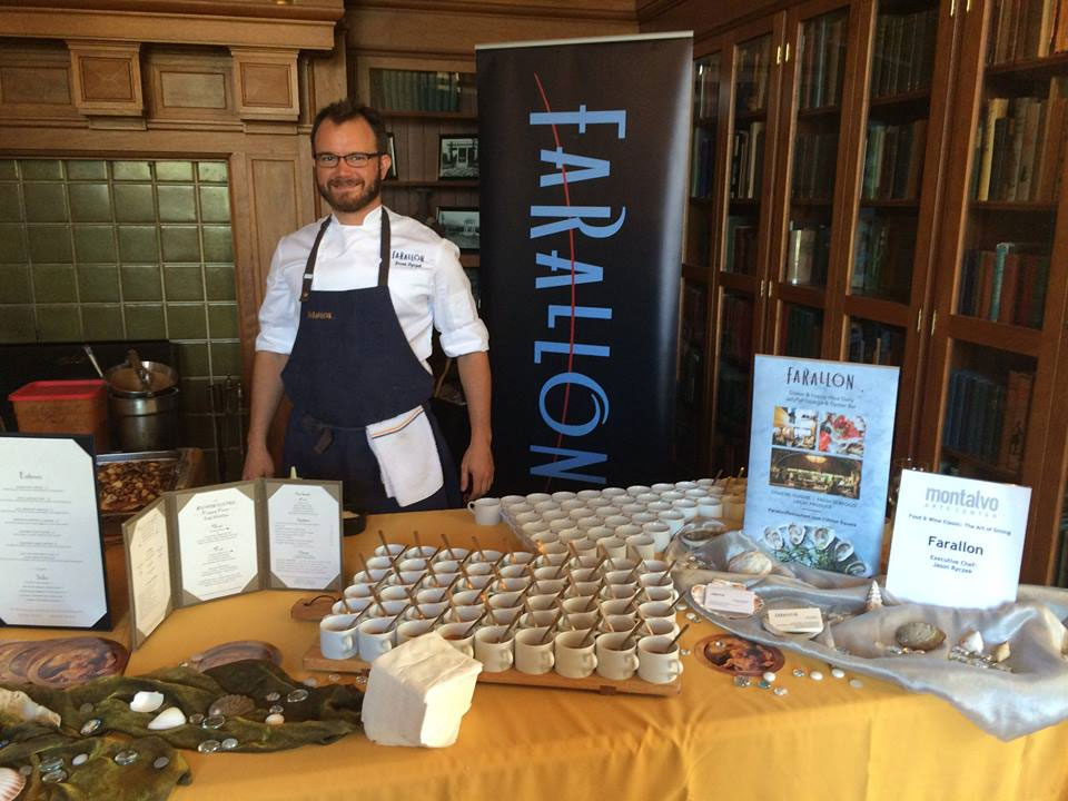 With Jason Ryczek and Farallon Restaurant SF at Montalvo Arts Center