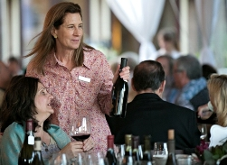 At the Paulee Dinner at DeLoach Vineyards as part of the Russian River Wine Growers' Pinot Classic weekend, May 24, 2014