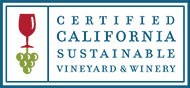 Certified California Sustainable Vineyard & Winery