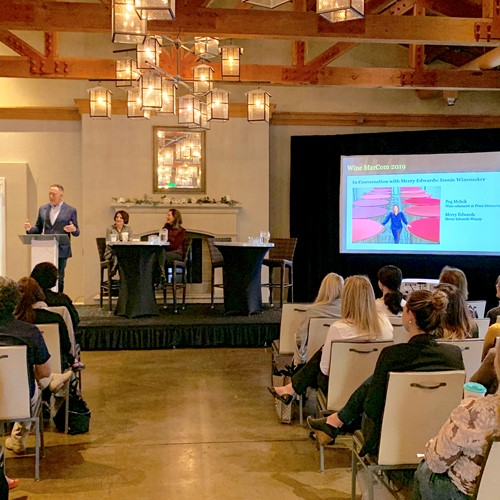 MarCom 2019 sponsored  by the Wine Institute, Sonoma, CA, May 2019