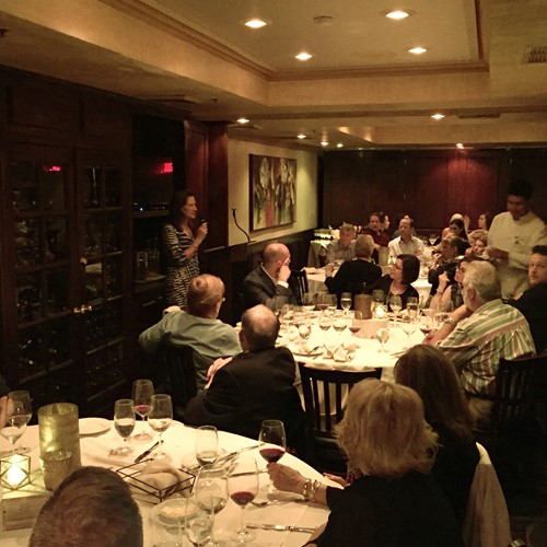 Winemaker dinner at Piero's Las Vegas, May 17, 2019